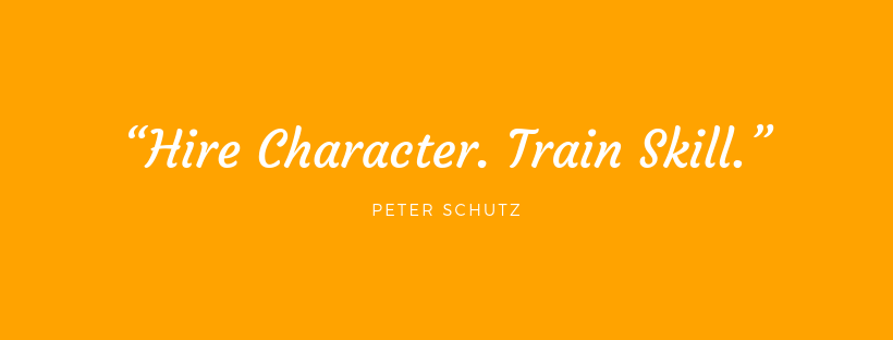 """Hire Character. Train Skill."""