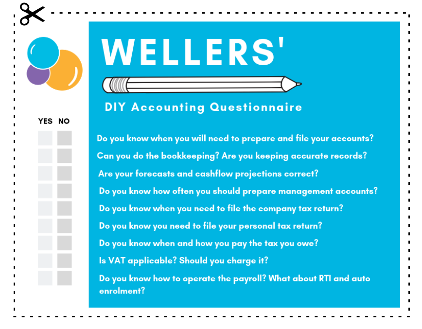 Wellers Accounting Questionnaire