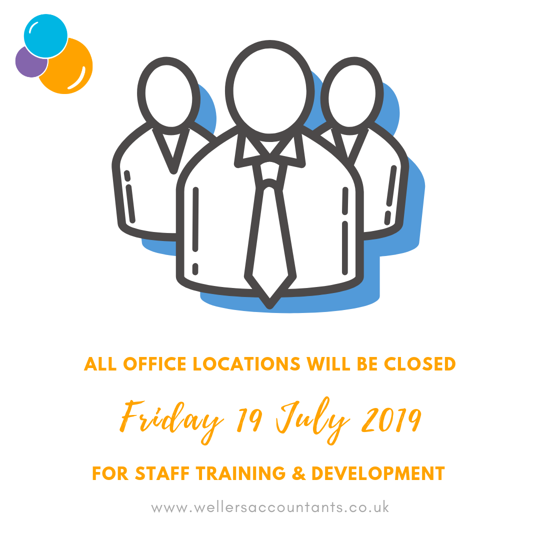 All office locations will be closed fo staff training - Wellers