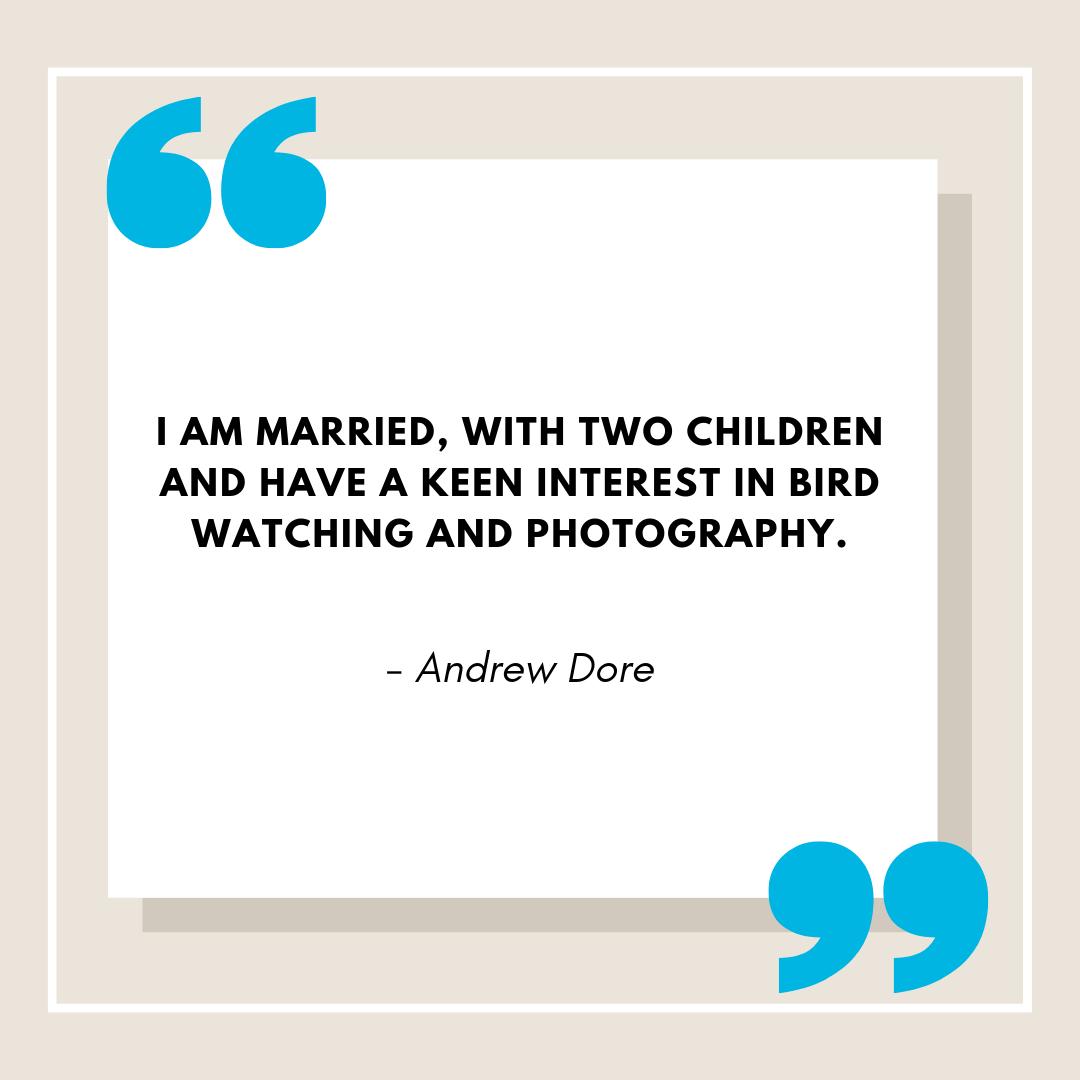 Andrew Dore Web Bio Partner Quotes