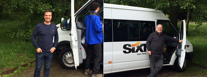 Three peaks challenge - the minibuses