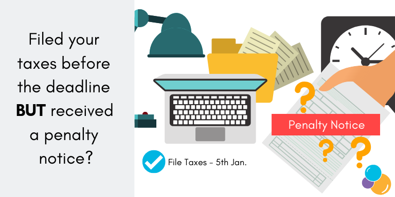 Riled your taxes with HMRC on time but received a penalty? Wellers can help