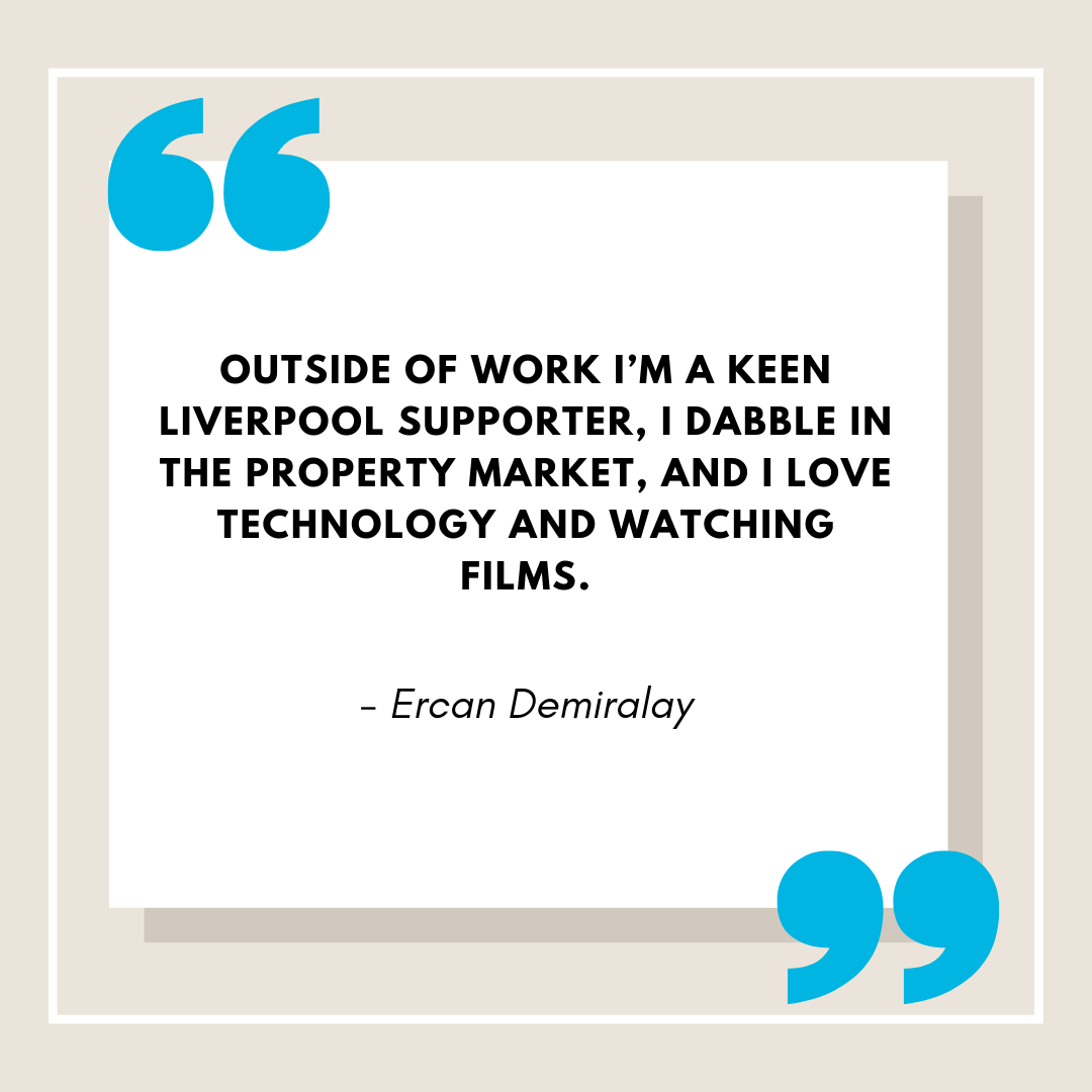 Ercan Demiralay Web Bio Partner Quotes