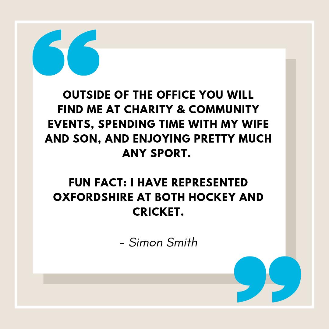 Partner Quote Simon Smith