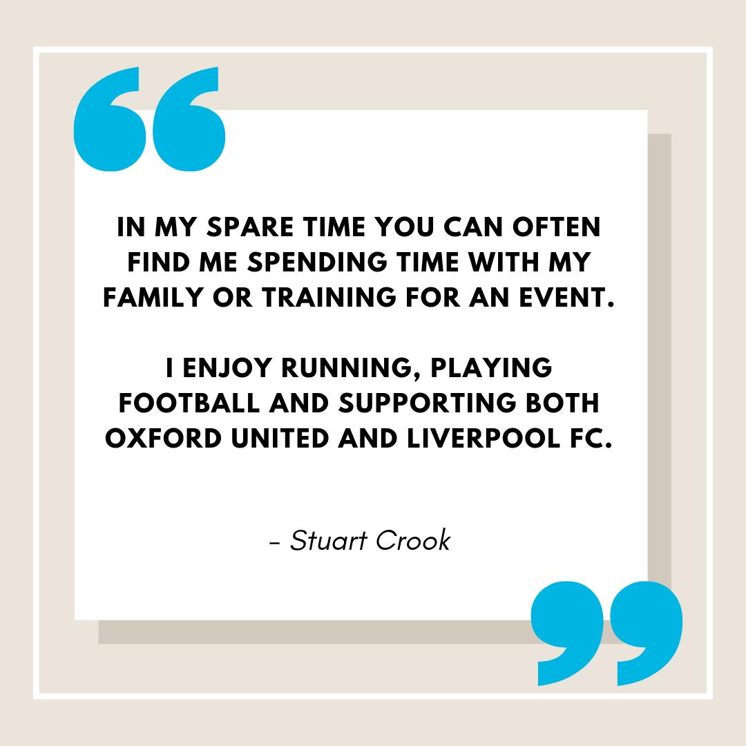 Partner Quotes Stuart Crook Bio
