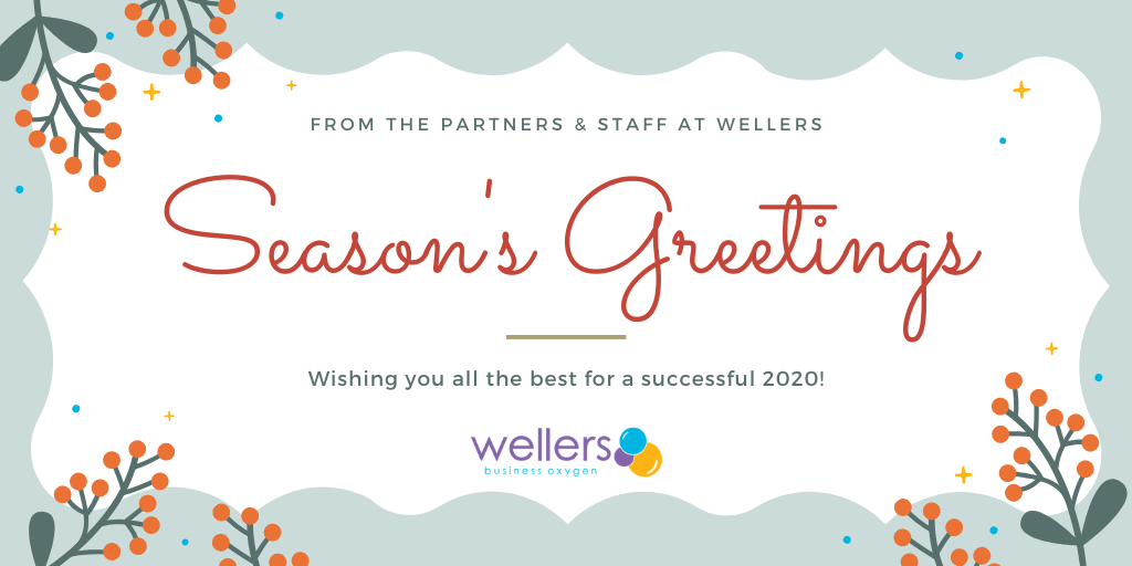 Season's greetings from the partners and staff at Wellers
