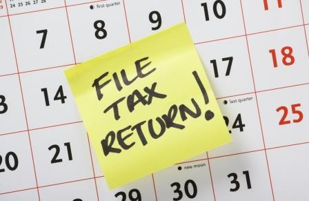 Prepare for online tax return