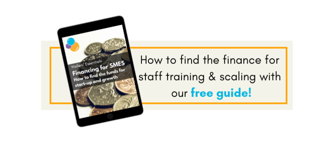 A free guide to help fund staff training for growth