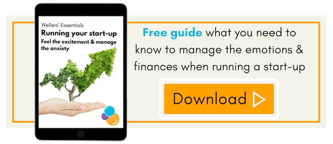 Managing the emotions of setting up and running a start-up, Wellers' free guide