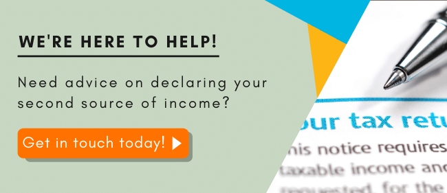 Advice on declaring your second income UK - Contact Wellers